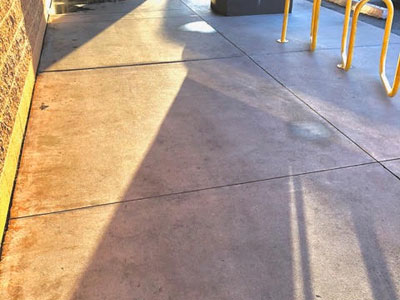 Commercial Pressure Washing after